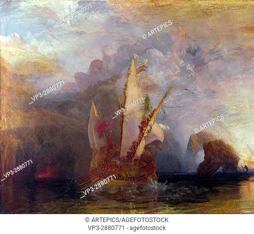 William Turner - Ulysses deriding Polyphemus - Homer's Odyssey - National Gallery London