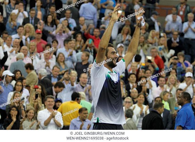 2014 Tennis U.S. Open - Men's Final - Celebrity Sightings Celebrities and Players at the Men's Final of the 2014 U.S. Open