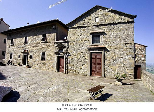 dome, cortona, tuscany, italy