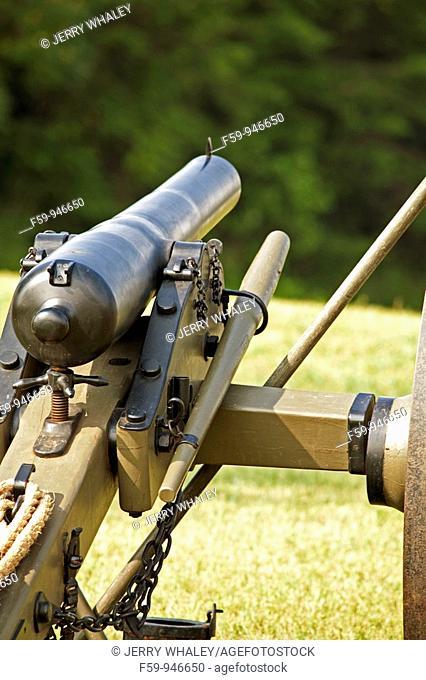 Antique Civil War canon