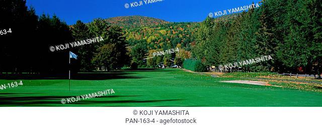 Golf course, Fairlee, Vermont, USA, No Release