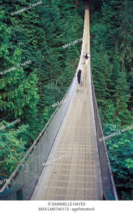 Capilanio suspension bridge, North Van, British Columbia, Canada