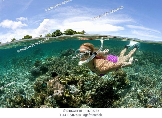 Snorkeling at Solomon Islands, Florida Islands, Solomon Islands