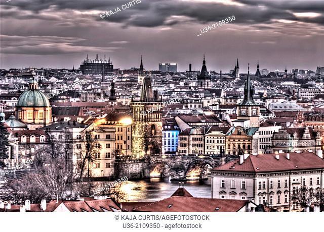 View of Prague Czech Republic
