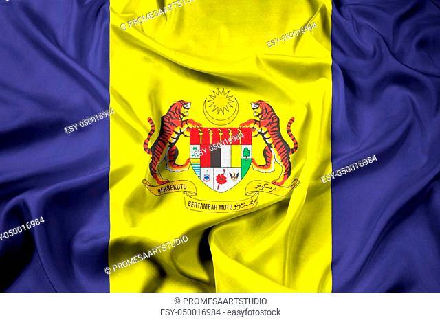 Waving Flag of Putrajaya, Malaysia