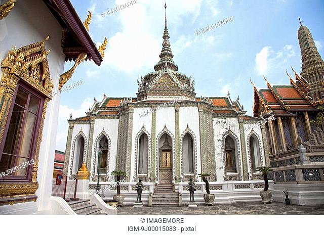 Thailand, Bangkok, Grand Palais, Wat Phra Kaeo, Dusit Throne Hall