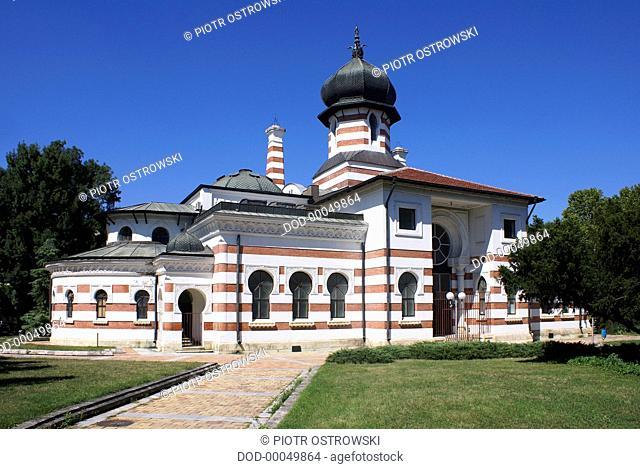 Bulgaria, Pleven, Svetlin Rusev Gallery, Neo-Byzantine facade