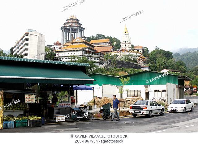 Kek Lok Si Temple on the hill, Penang, Malaysia