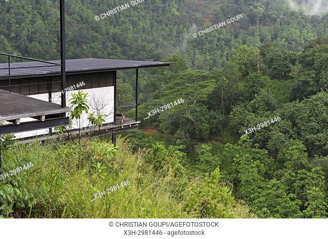 chalet of Santani Wellness Resort, Arantenna Estate, . Werapitiya, Kandy, Sri Lanka, Indian subcontinent, South Asia