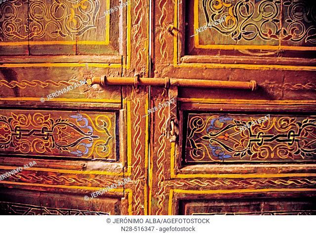 Door. Morocco