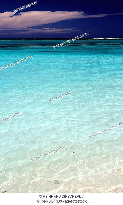 Turquoise blue sea, Punta Cana Caribbean, Dominican Republic