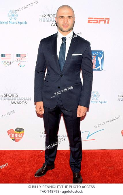 Mark Giordano attends the 3rd Annual Sports Humanitarian of the Year Awards at LA LIVE'S The Novo in Los Angeles on July 11, 2017
