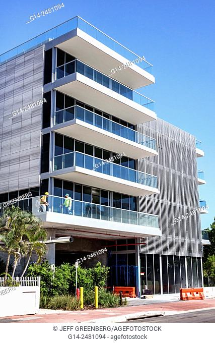 Florida, South, Miami Beach, office building, newly constructed, contemporary style, architecture