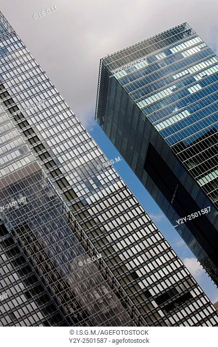 Building in Tokyo, in financial district named Marunouchi, Japan