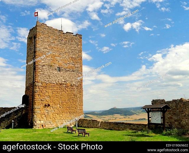 Turm auf der Wandersleber Gleichen