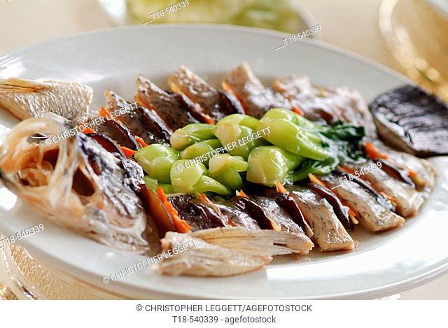 a dish of fish