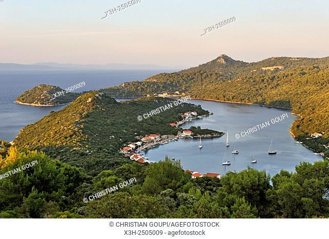 Malo Lago bay, Pasadur, Lastovo island, Croatia, Southeast Europe