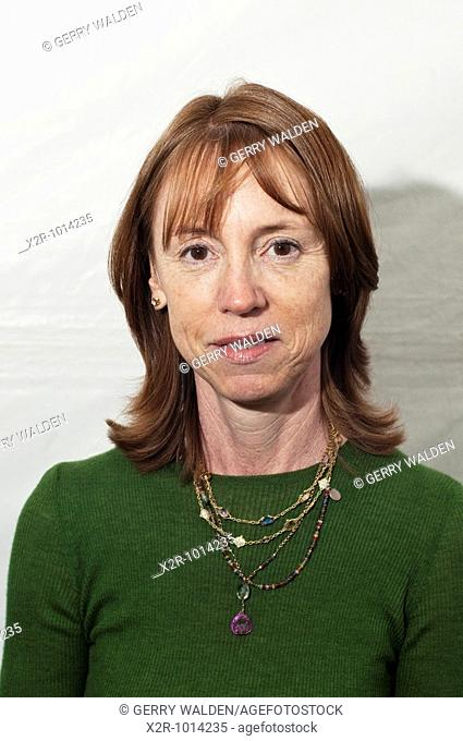 Lisa See, Chinese American novelist, at the Cheltenham Literary Festival