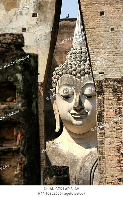 10852656, Thailand, Asia, culture, Sukhothai, Wat