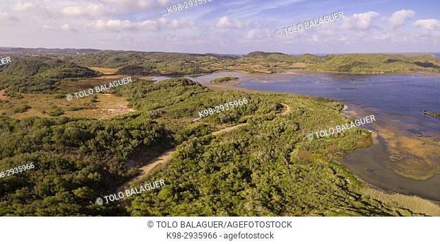 Parque natural de s'Albufera des Grau, Minorca, Balearic Islands, Spain