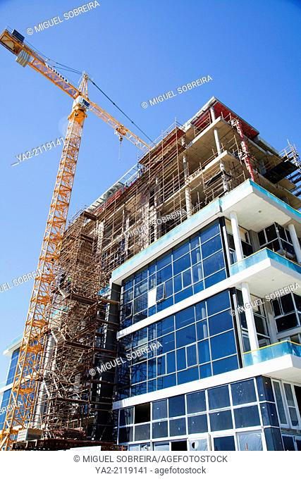 New Apartments Construction in Mouille Point, Cape Town - South Africa