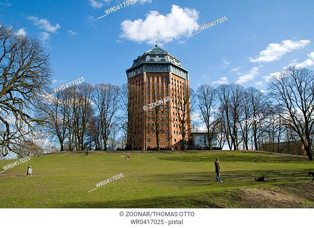 Hamburg, Germany, Old Water Tower