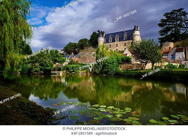 France, Indre-et-Loire (37), Montrésor, classified Les Plus Beaux Villages de France or the Most beautiful villages of France