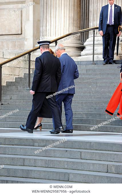 Prince Charles attending the National Police Memorial Day 2016 at St Paul's Cathedral, London. Featuring: Prince Charles Where: London