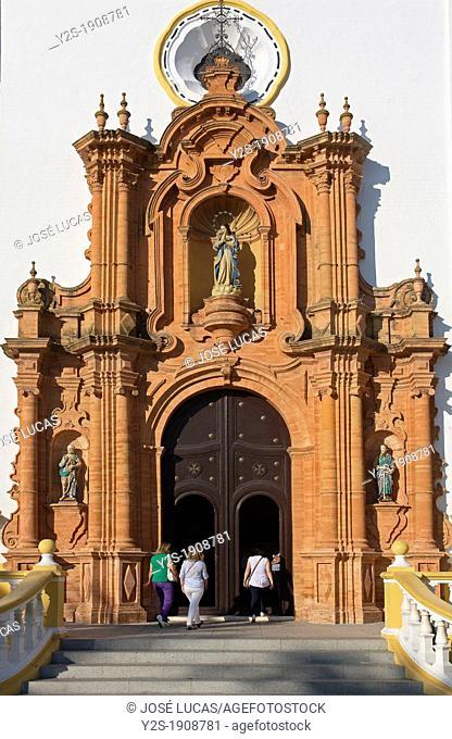Church of San Juan Bautista -Doorway, La Palma del Condado, Huelva-province, Spain
