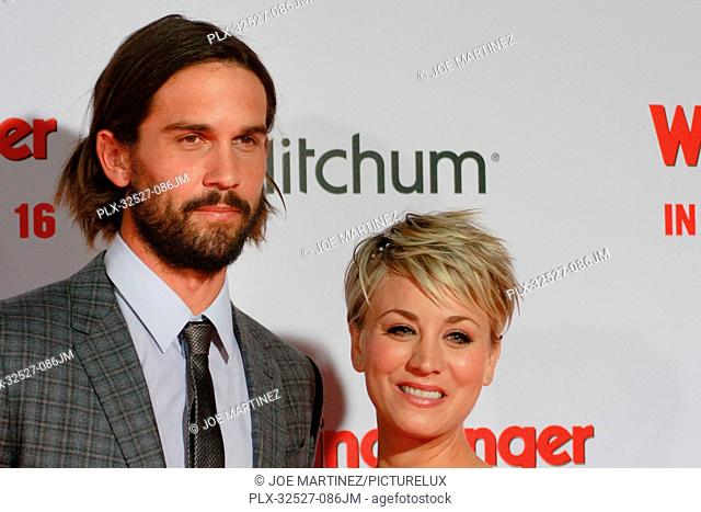 Ryan Sweeting and Kaley Cuoco-Sweeting at the Premiere of Screen Gems' The Wedding Ringer held at the TCL Chinese Theater in Hollywood, CA, January 16, 2015