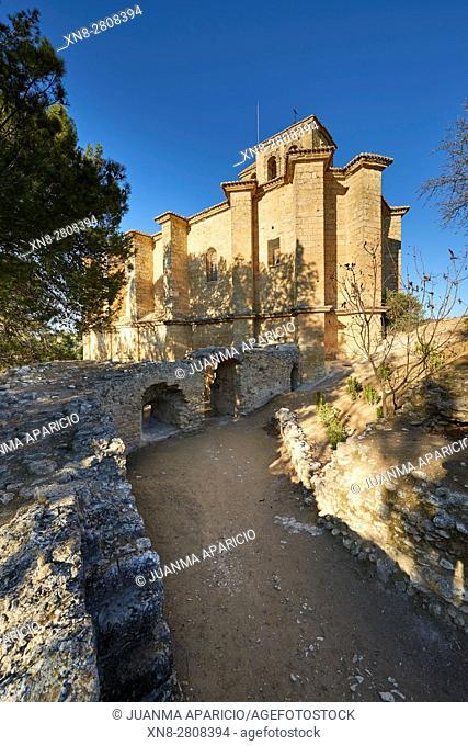 Iglesia de la Villa, Montefrio, Granada, Andalusia, Spain, Europe