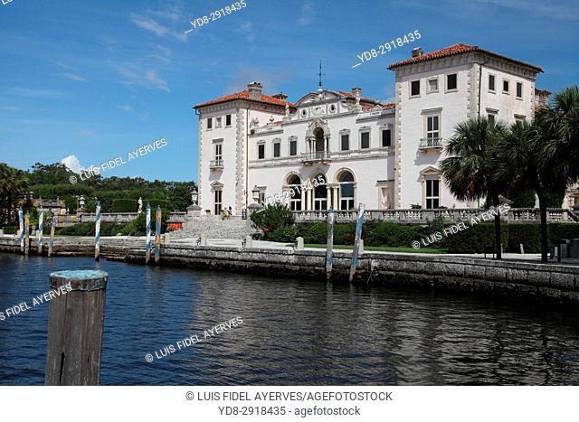 Vizcaya Park and Museum in Miami, Florida