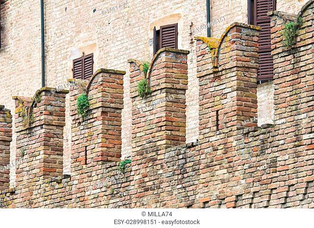 Castle of Fontanellato. Emilia-Romagna. Italy