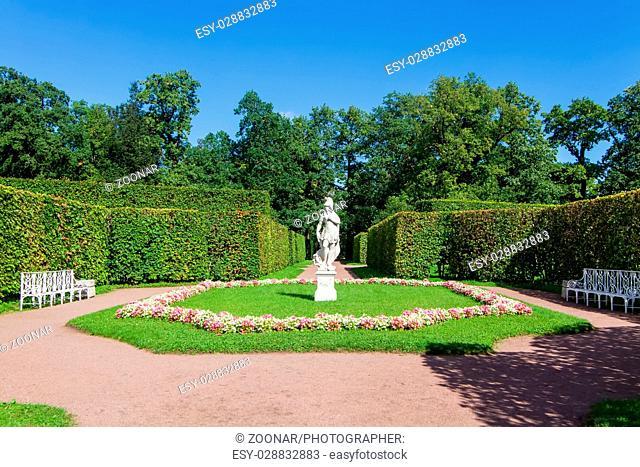Catherine royal park Saint Petersburg