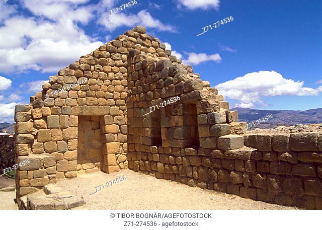 Incan ruins at Ingapirca. Cañar province. Ecuador