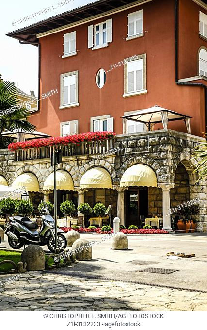 Amadria Park Hotel Sveti Jakov on the waterfront in Opajia on the Croatian Riviera