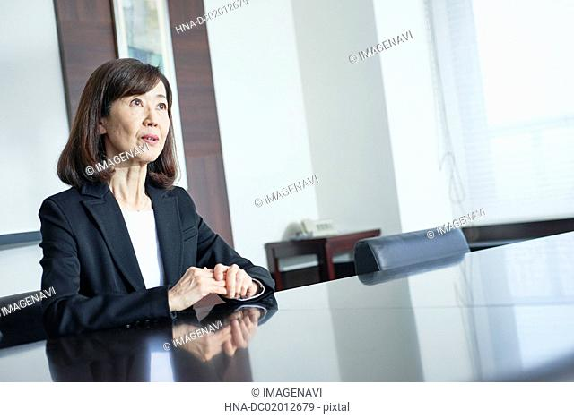 Senior businesswoman
