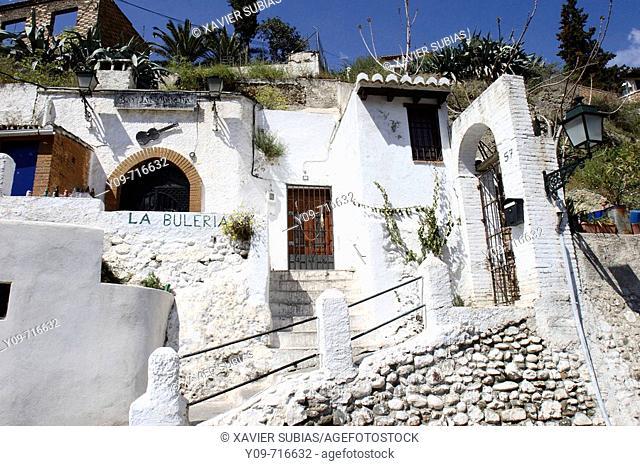 Caves, Sacromonte, Granada. Andalucia, Spain