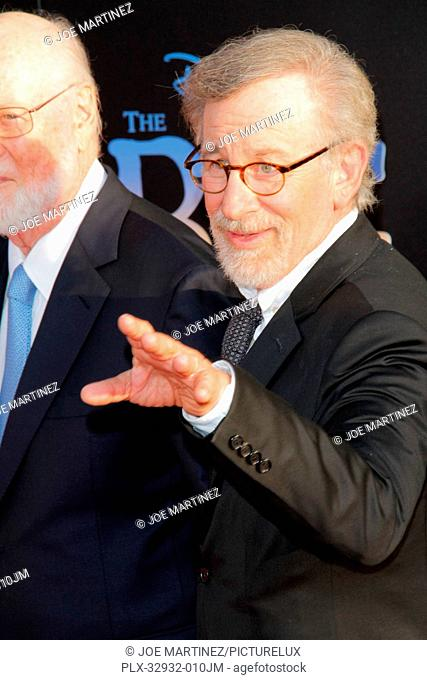 John Williams and Steven Spielberg at the U.S. Premiere of Disney's The BFG held at El Capitan Theater in Hollywood, CA, June 21, 2016