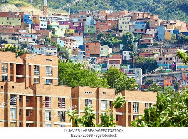 Comuna 13, Medellin, Antioquia, Colombia, South America