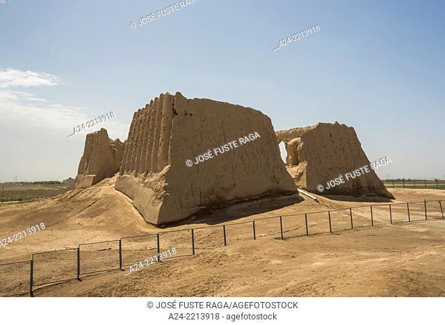 Turkmenistan ,Ancient Merv City , Big Kyz- Kala (House of the Forty Women)