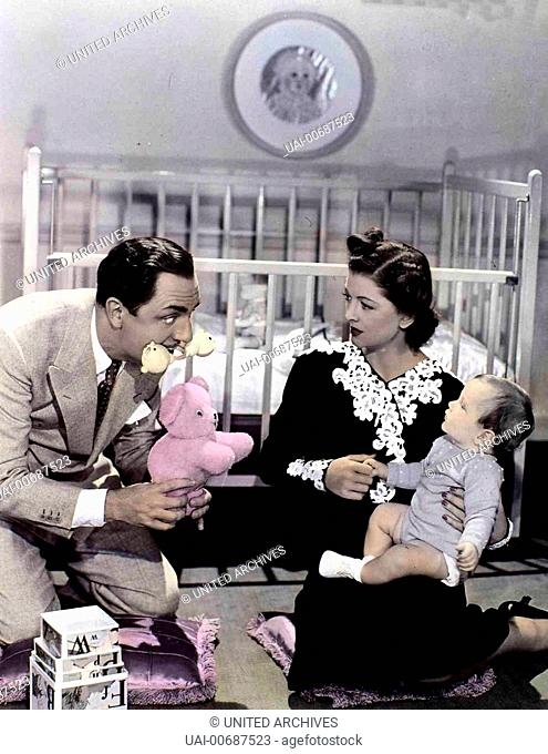 Myrna Loy, William Powell, William A. Poulsen Das Detektiv-Ehepaar Nora (Myrna Loy) und Nick Charles (William Powell) plant mit seinem Sohn Nicky (William A