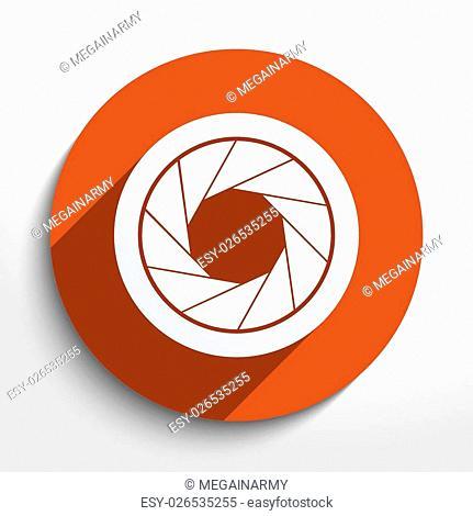 Vector film camera web icon. Eps 10