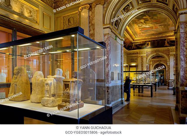 Louvre Museum, Egyptian Section,Paris, France