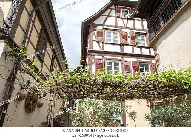 The historic old town in Gengenbach, Black Forest, Baden-Wurttemberg, Germany