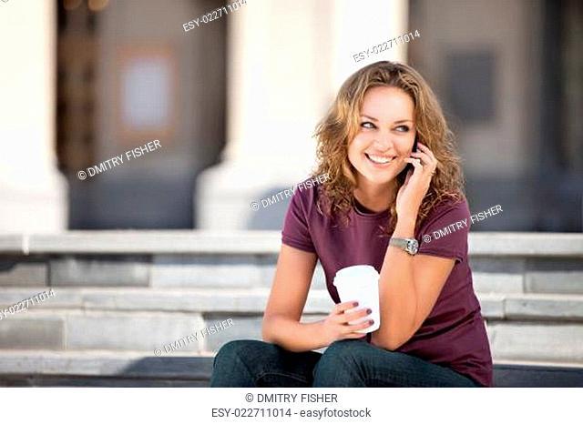 City life and coffee