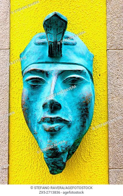 Akhenaten mask