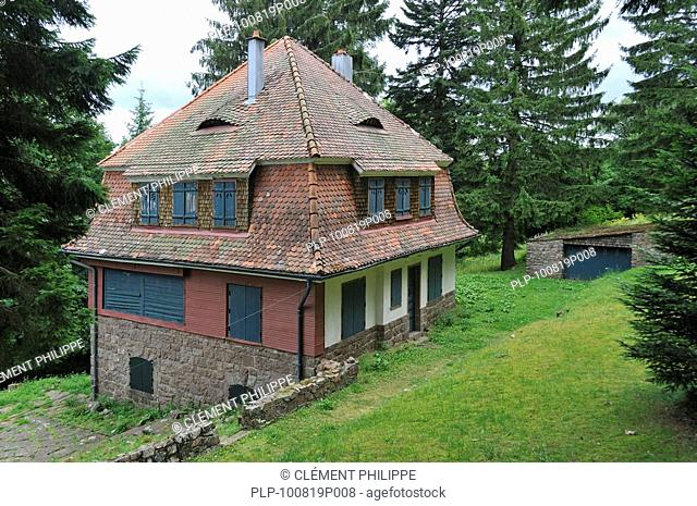 The villa of commandant Kramer at Natzweiler-Struthof, the only concentration camp established by the Nazis on French territory