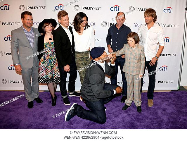 PaleyFest Special Event: 'NCIS: Los Angeles' Fall Premiere - Arrivals Featuring: Chris O'Donnell, Renée Felice Smith, Barrett Foa, LL Cool J, Miguel Ferrer