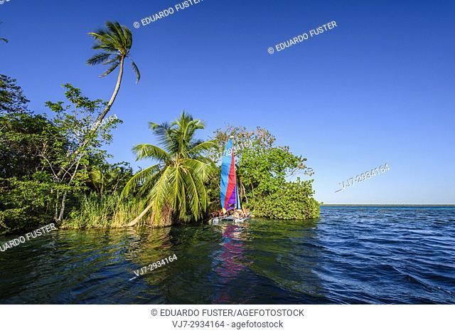 Bacalar lagoon, Quintana Roo (Mexico)
